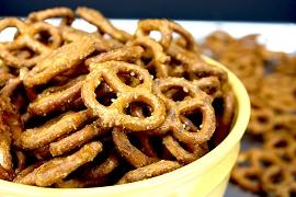 Gourmet Honey Mustard Pretzels