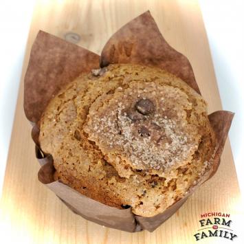 Pumpkin Chocolate Chip Muffin, Gluten-Free