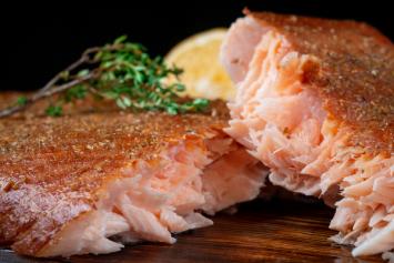 Simply Smoked Coho Salmon
