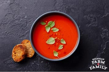 Simply Made Tomato Basil Soup