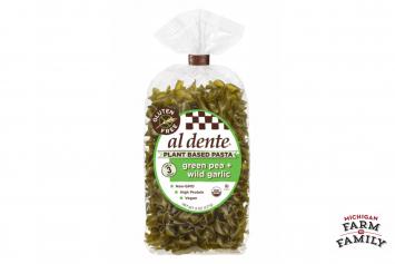 Organic Green Pea & Wild Garlic Pasta, Gluten-Free