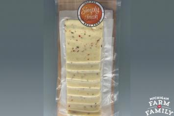 Pepper Jack Organic Raw Milk Cheese, Deli-Sliced