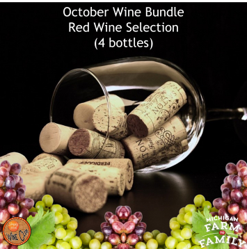 Red Wine Bundle - October's Selections