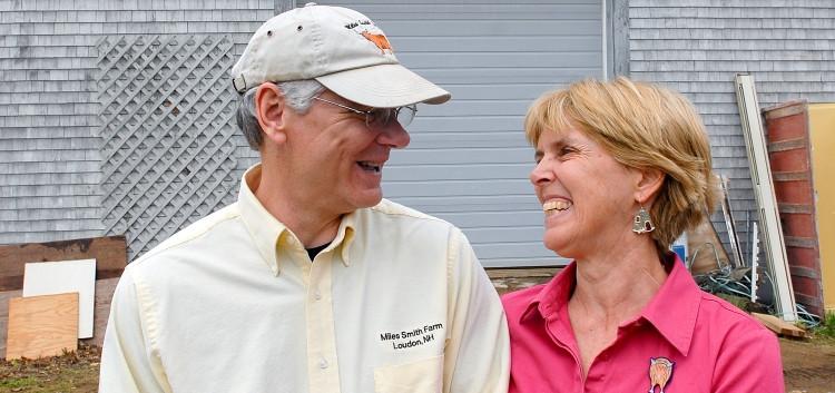 Farmers Bruce and Carole