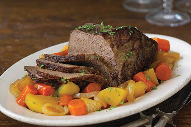 Pot Roasts (Chuck, Shoulder, Clod, Rump, or Bottom Round )