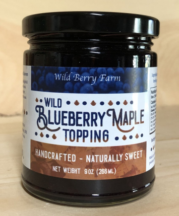 Wild Blueberry Maple Topping