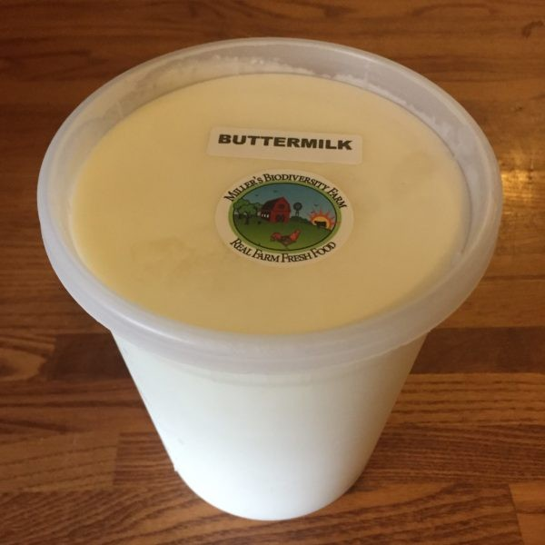 A2 COW Buttermilk, Made with Sour Cream, Raw (Plastic)