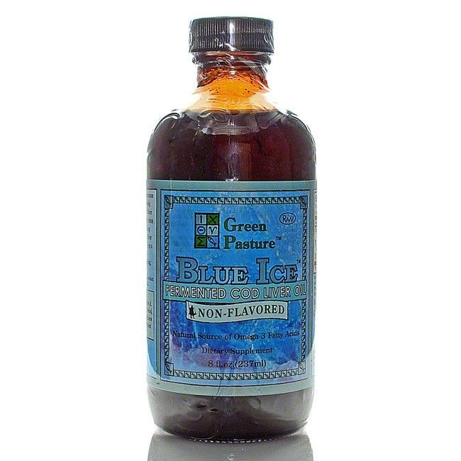 Cod Liver Oil, Blue Ice