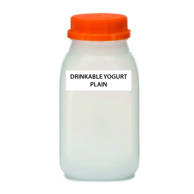 A2 COW Drinkable Yogurt, Plain, Raw (Plastic)