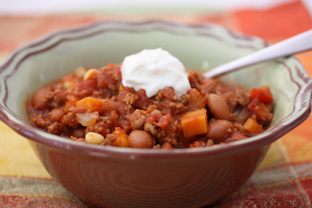 Beef and Sweet Potato Chili Freezer Meal