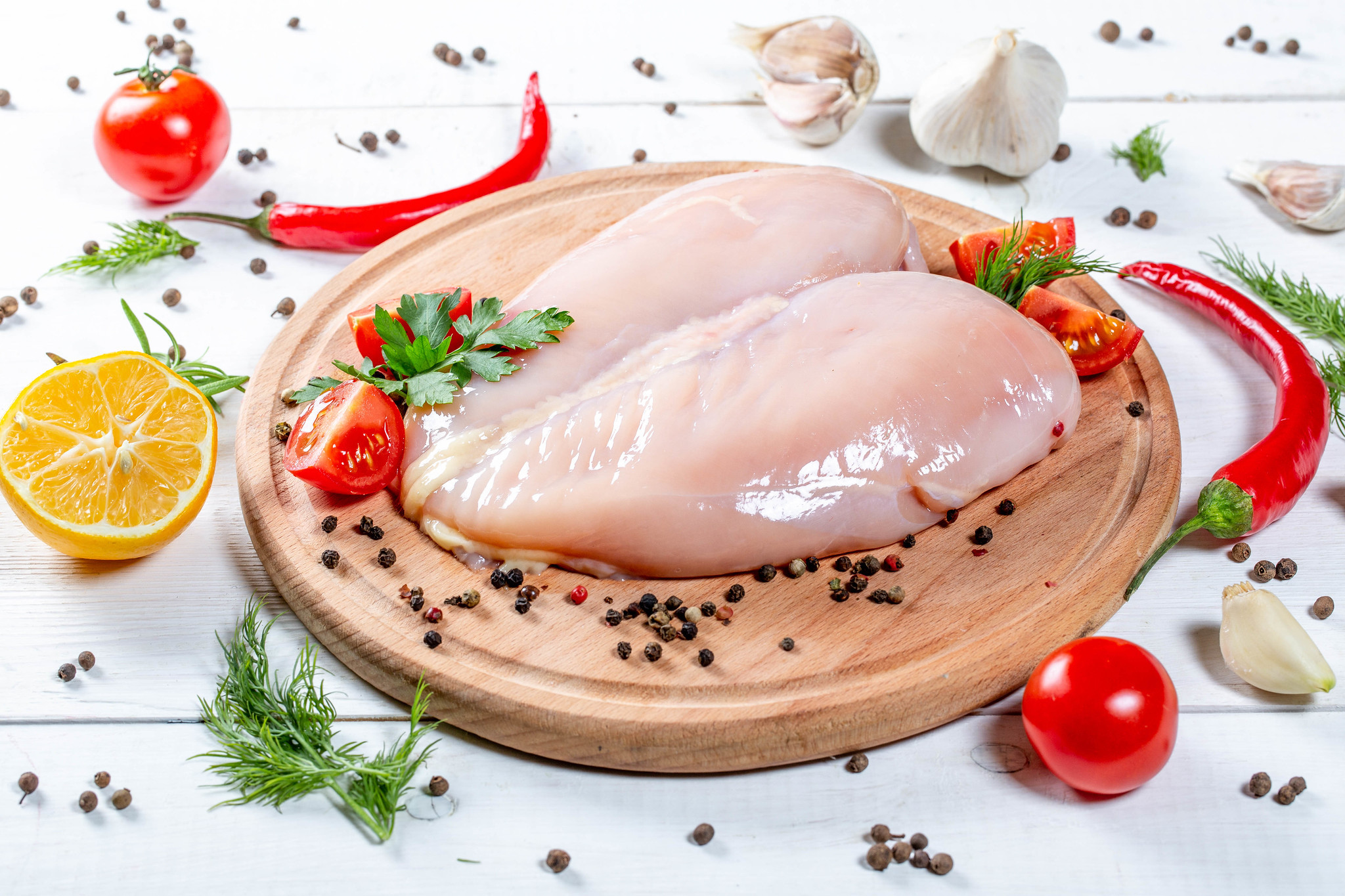 How in the world could chicken breasts cost $20 per pound!?