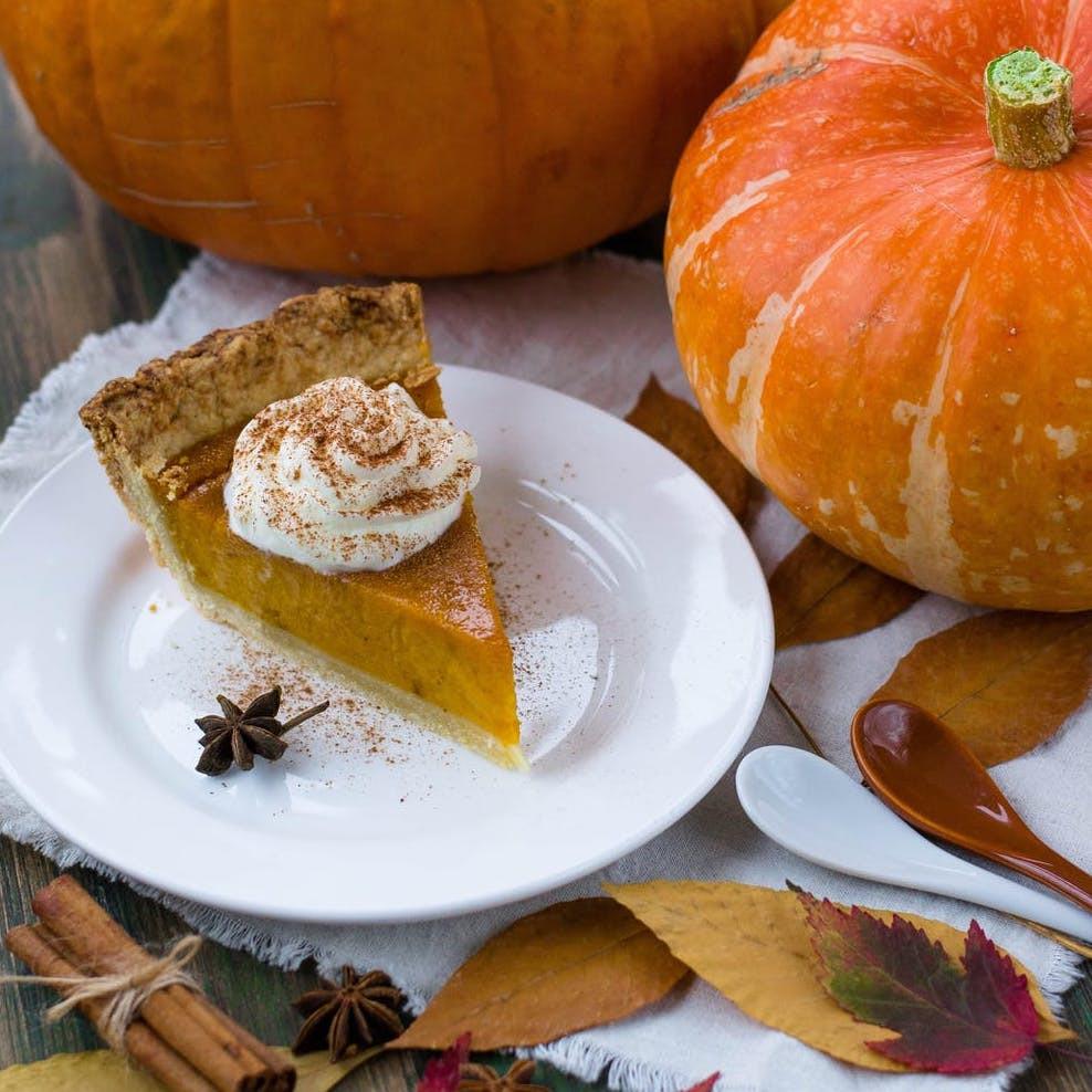 Fresh Pumpkin Pie with Einkorn Crust BALANCE