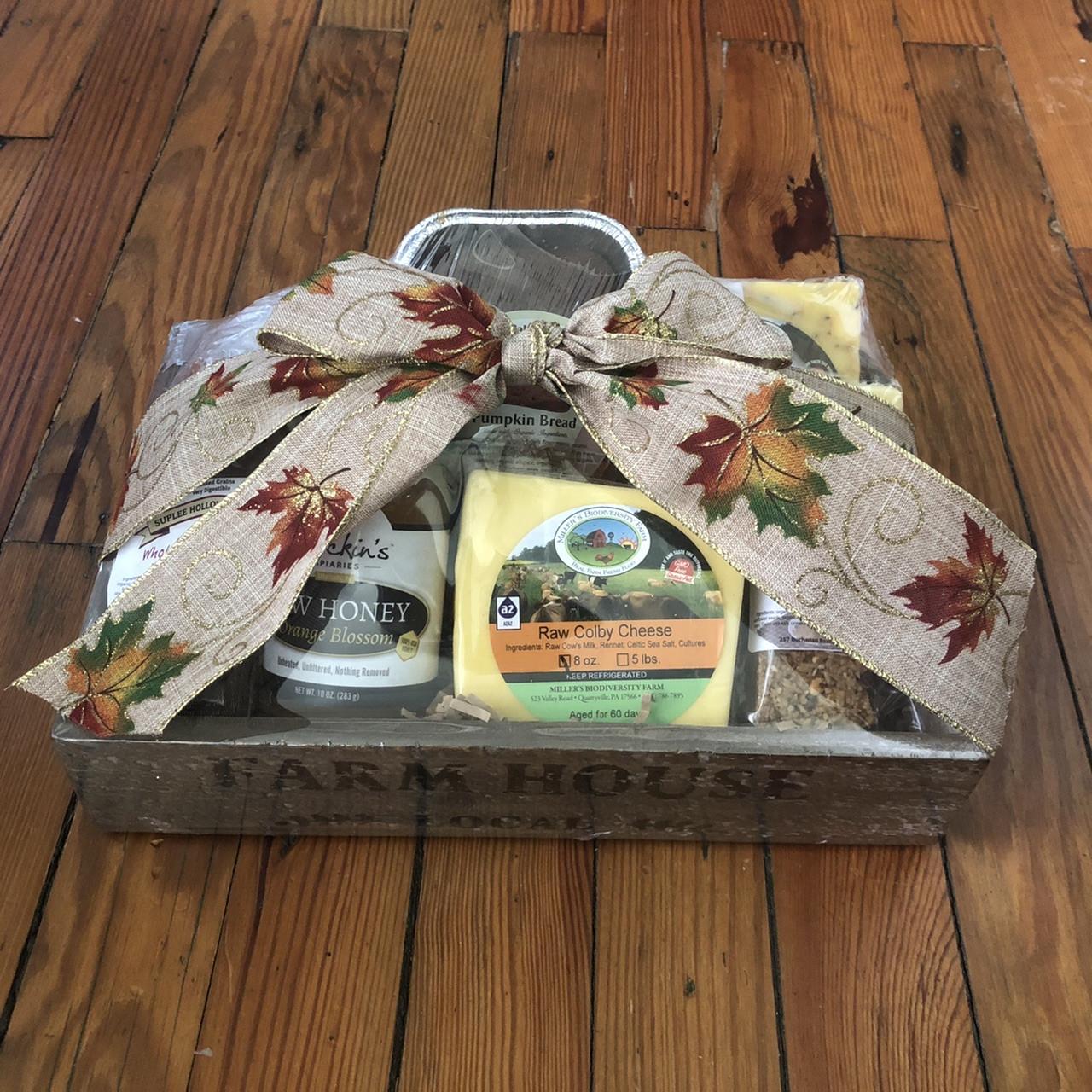 Thanksgiving Gift Basket (Large) 50% DEPOSIT