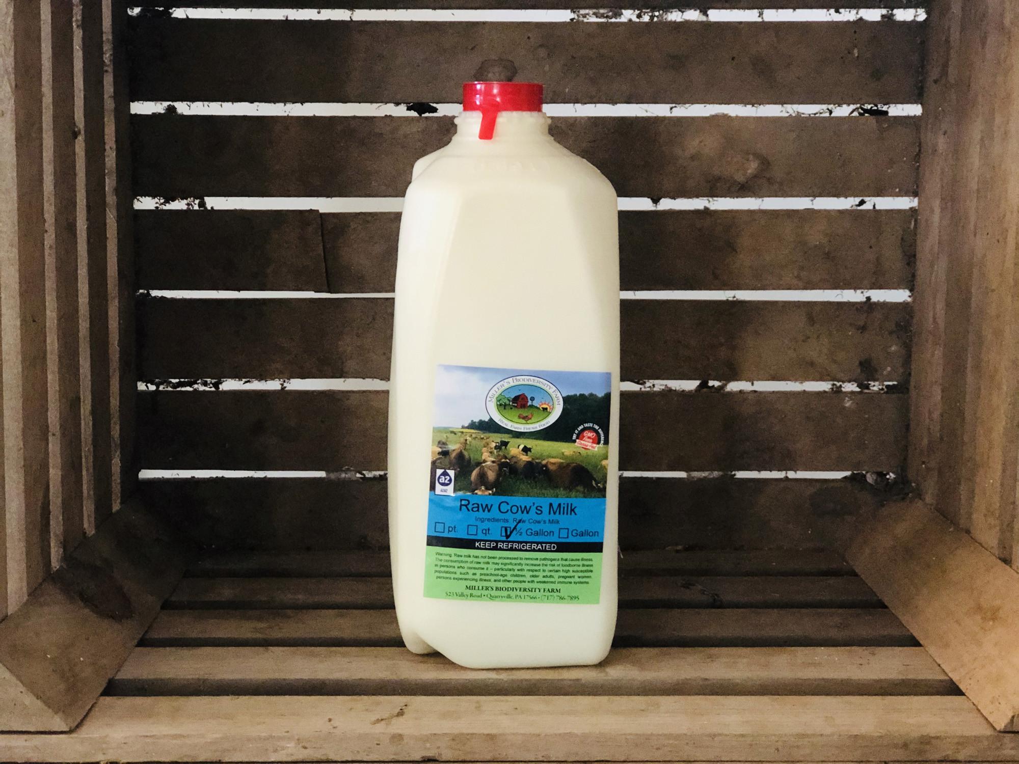 A2 Milk, 1/2 gallon