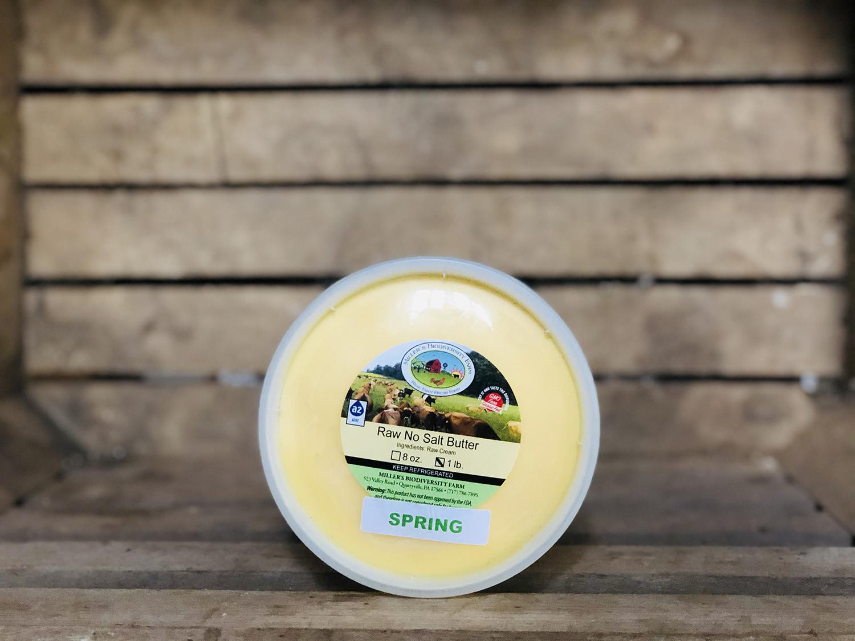 100% Spring Grass Unsalted A2 Butter, 1lb