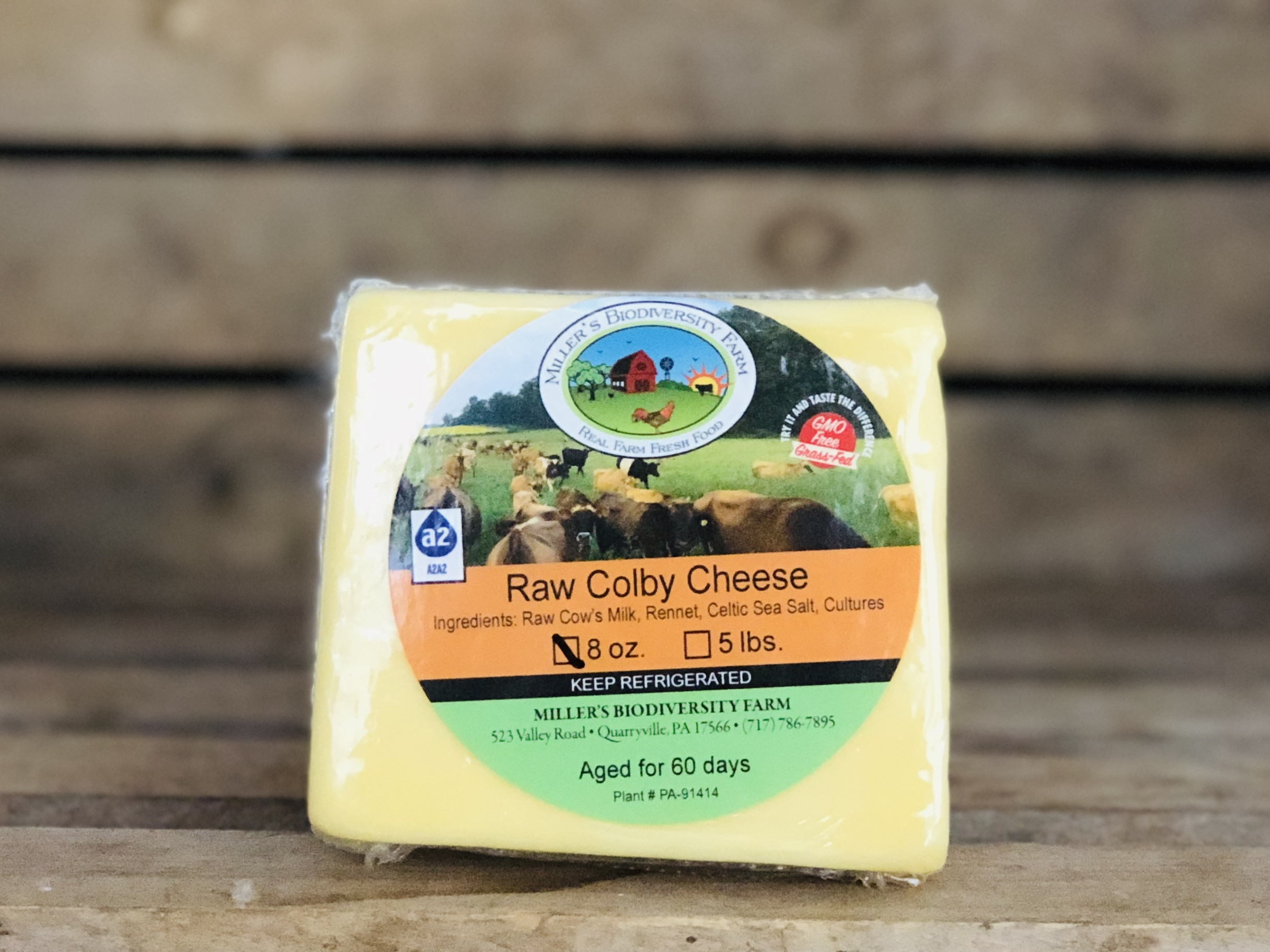 A2 Colby Cheese, 8oz