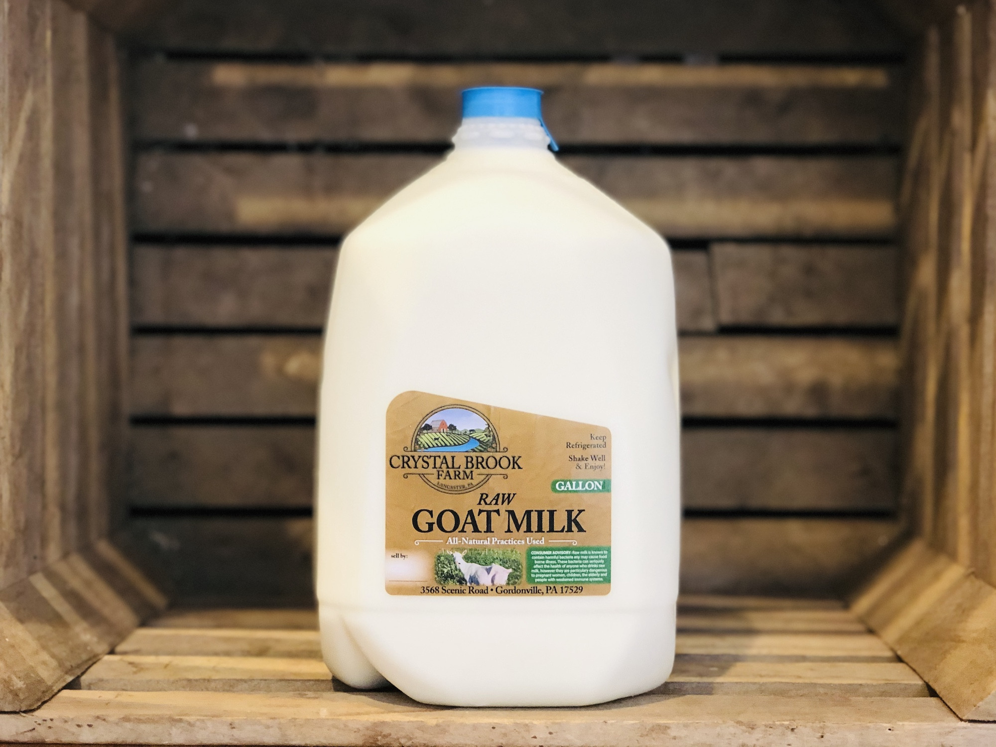 Goat Milk, 1 gallon