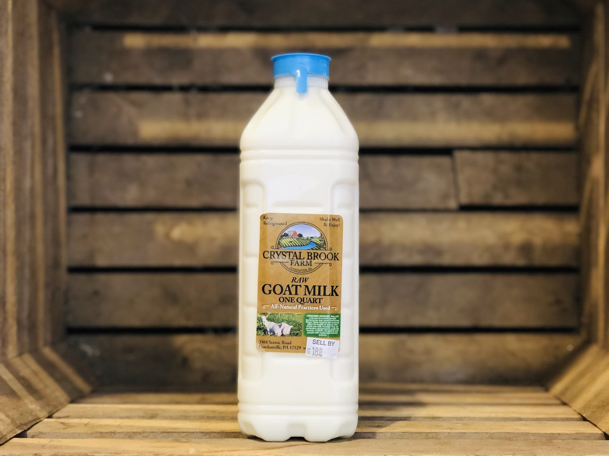 Goat Milk, 1 quart