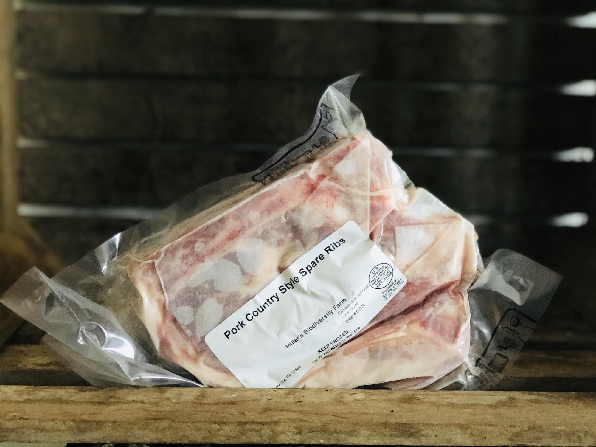 Pork Country Spare Ribs