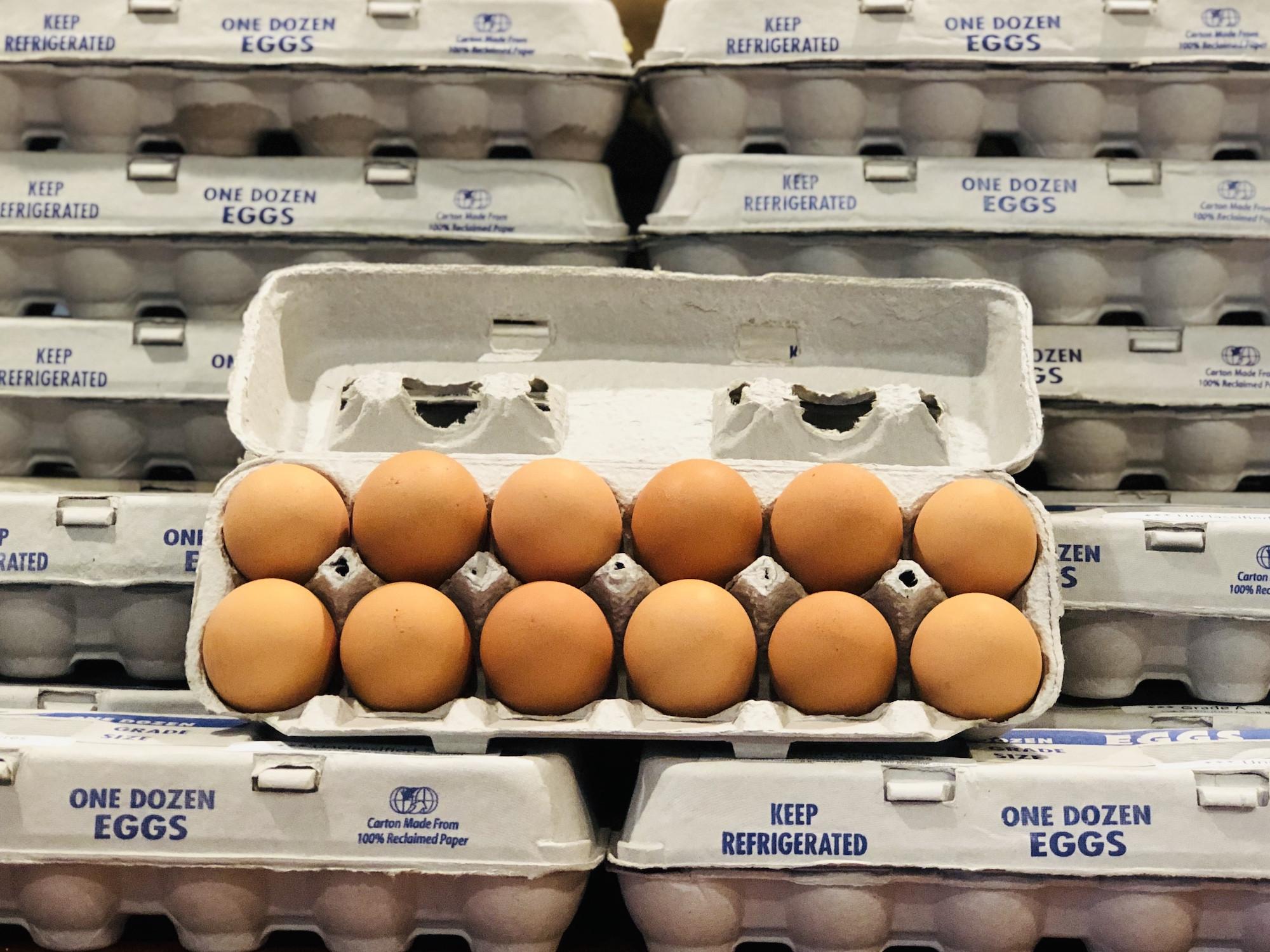 Brown Soy-Free Chicken Eggs, 15 dozen