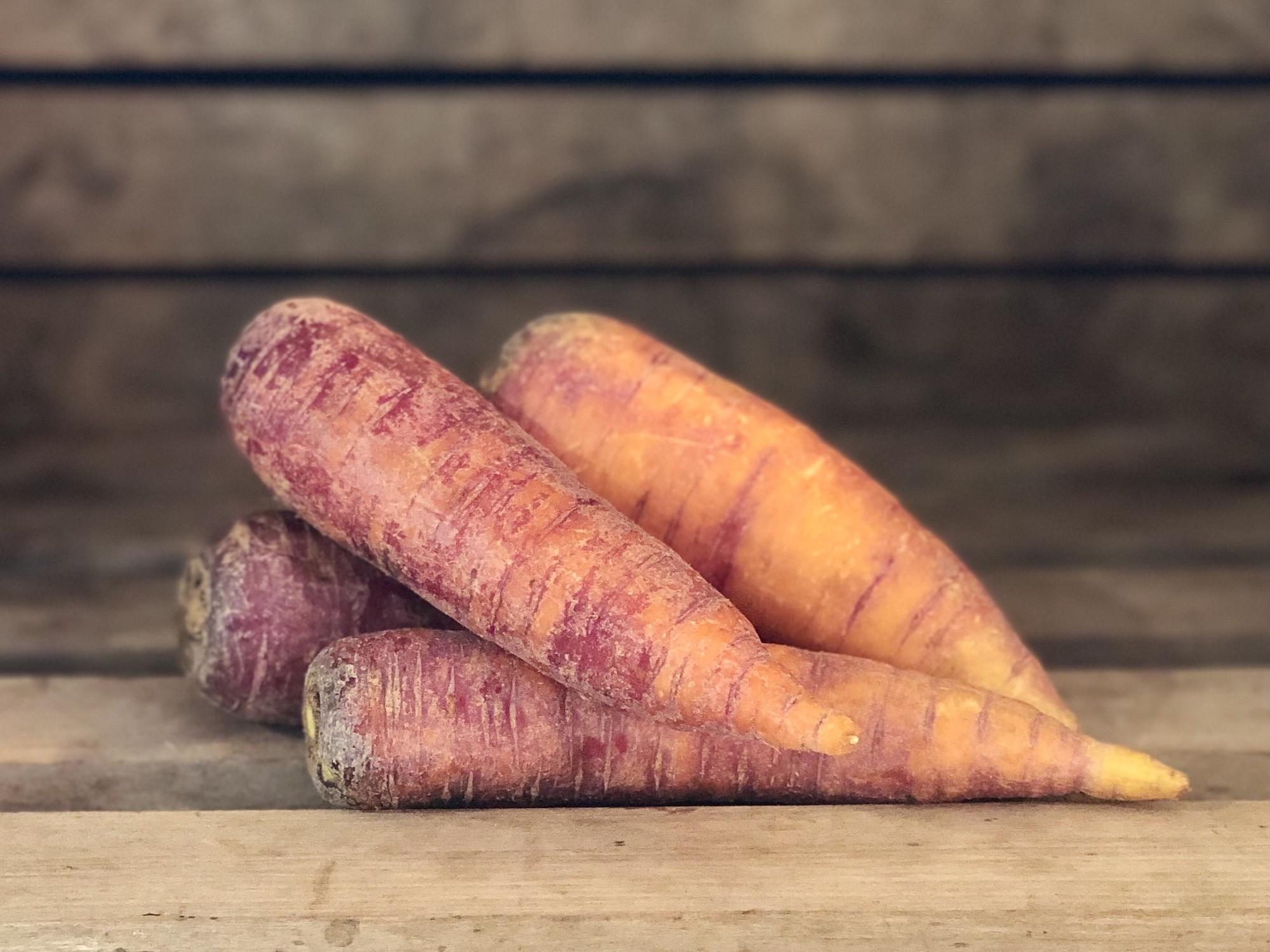 1lb Purple Carrots
