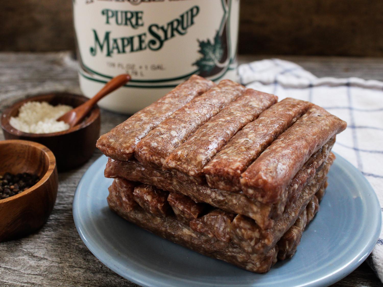 20 pack - Beef Maple Breakfast Sausage Links