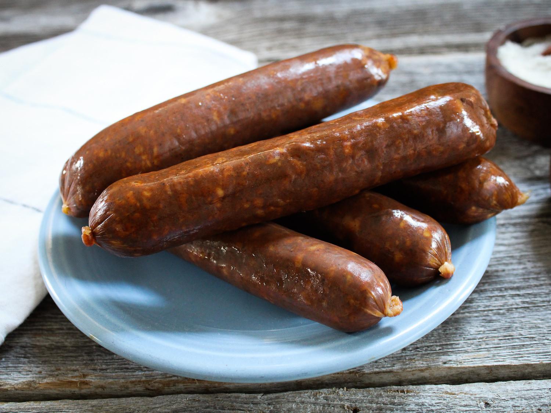 Smoked Beef Kielbasa Sausage Links