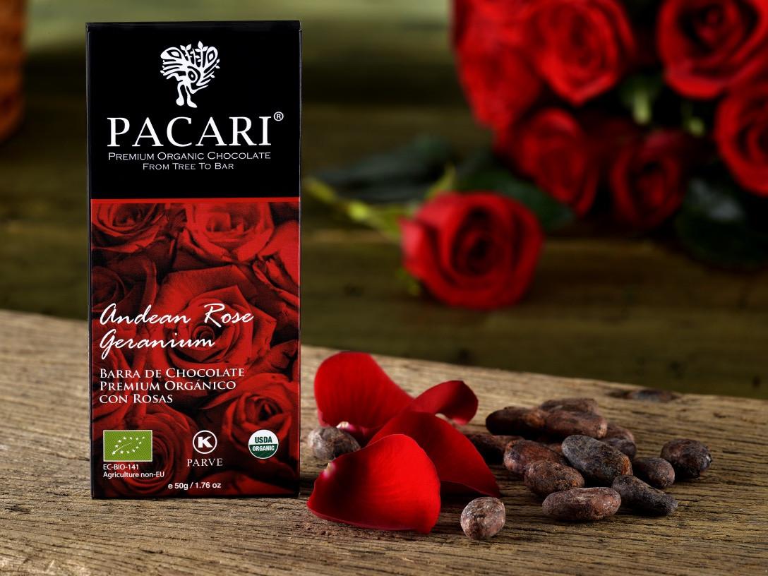 Andean Rose Organic Chocolate Bar