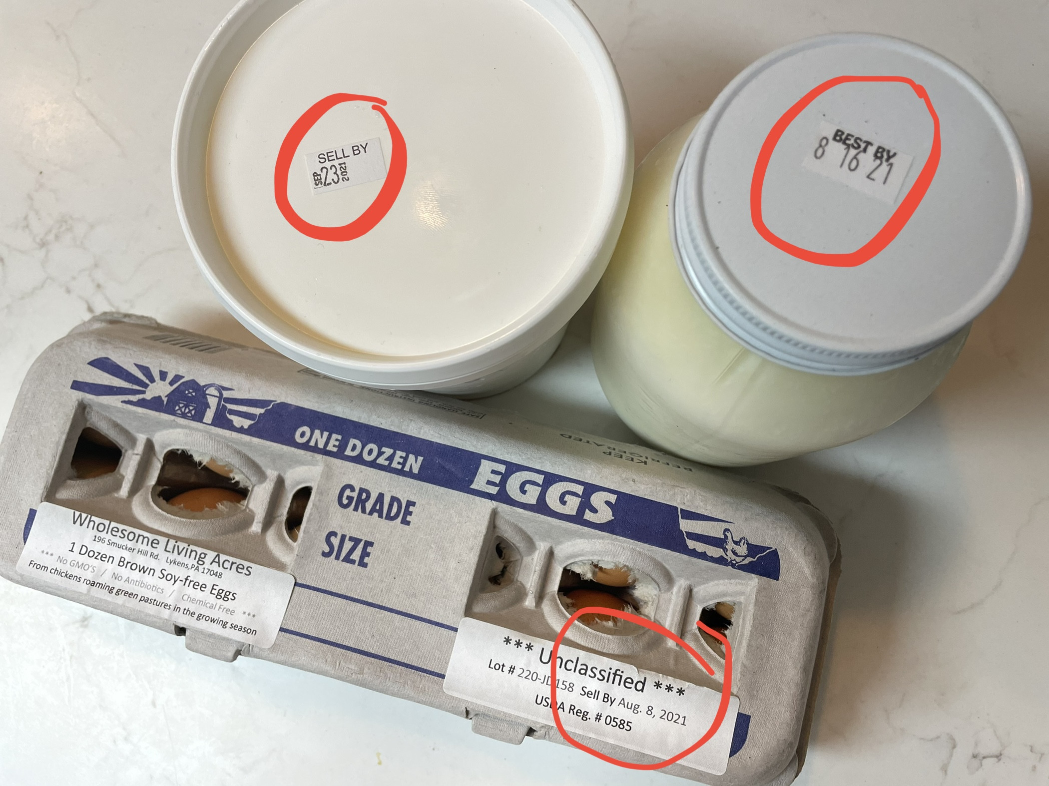 The ridiculousness of best by dates and why we use them anyway