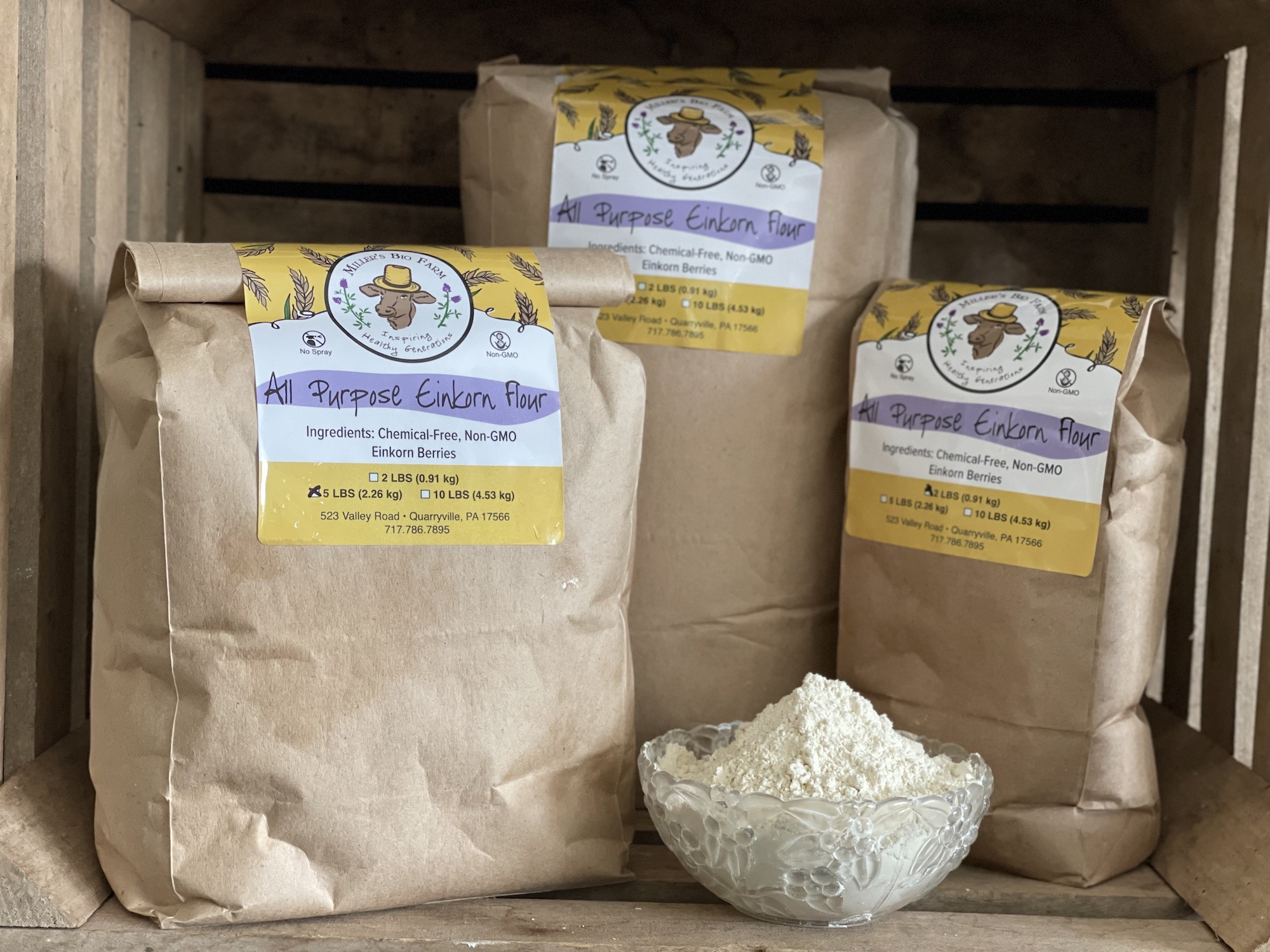 A helpful guide for buying natural and healthy flour.