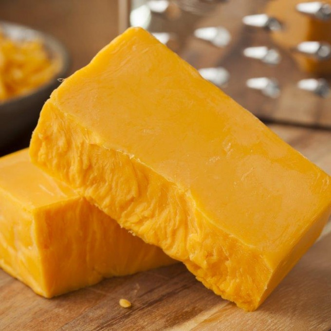 A2 COW Cheddar Cheese, Raw, Mild