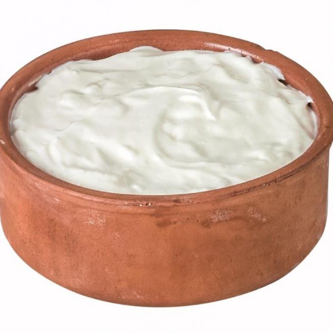 GOAT Yogurt, Maple, Raw (Glass)