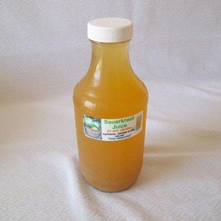 Fermented Cabbage Juice (Glass)