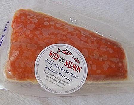 Alaska Wild Salmon Portions