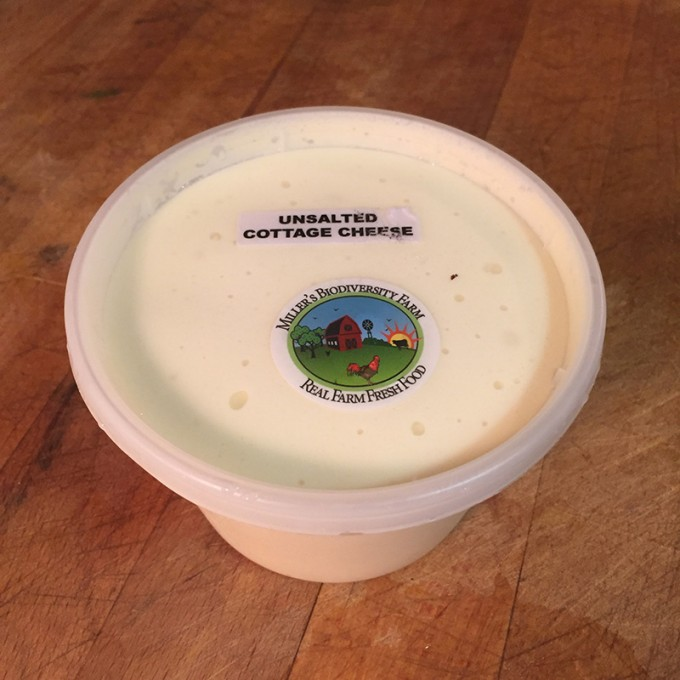 A2 COW Cottage Cheese, Raw, Unsalted (Plastic)