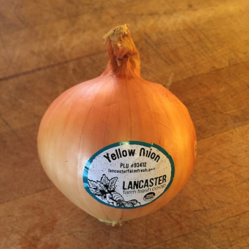Onions, Yellow
