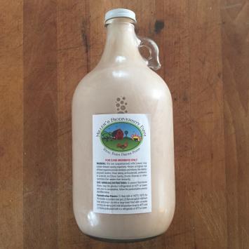 A2 COW Chocolate Milk, Raw (Glass)