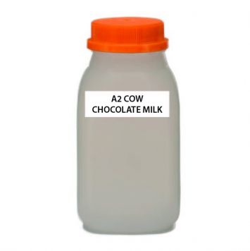 A2 COW Chocolate Milk, Raw (Plastic)