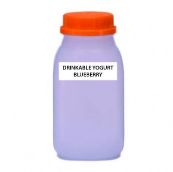 A2 COW Drinkable Yogurt, Blueberry, Raw (Plastic)