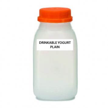 A2 COW Drinkable Yogurt, Plain, Raw (Plastic)