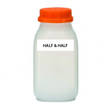 A2 COW Half & Half, Raw (Plastic)