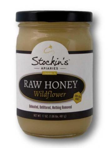 Honey, Raw Wildflower (Glass)