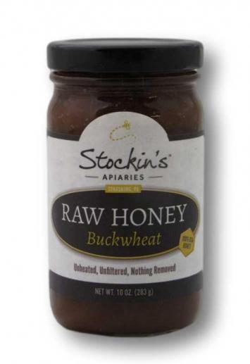 Honey, Raw Buckwheat (Glass)