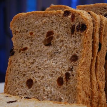 Einkorn Raisin Bread, Personal Size