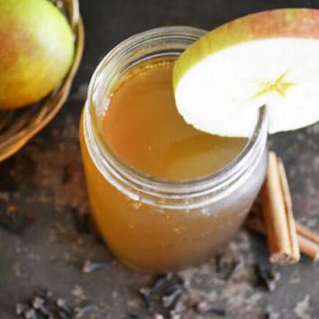 Kombucha Tea, Spiced Apple