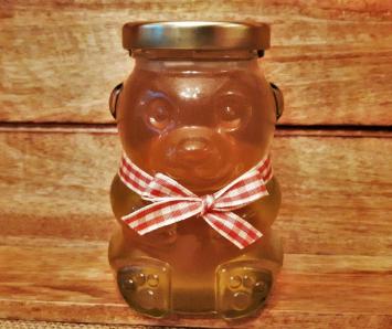 Glass Honey Bear