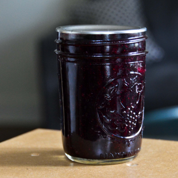 Blueberry Syrup (Glass)