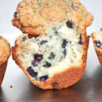 Gluten-Free Muffins, Blueberry