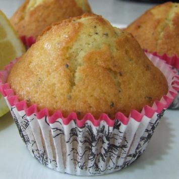 Gluten-Free Muffins, Lemon Poppy