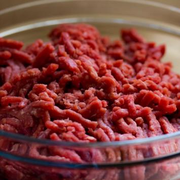 Beef Pet Food - Beef Trimmings, 10 pack